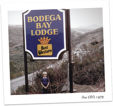 Bodega Bay Lodge Sign